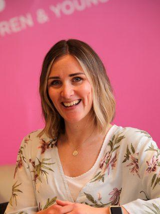 Amy Stothers, Volunteer Coordinator