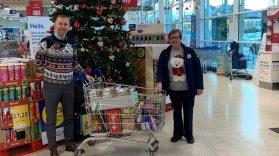 Belfast Floating Support Tesco Donation