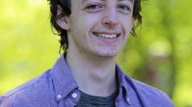 Portrait of Conor, volunteer mentor