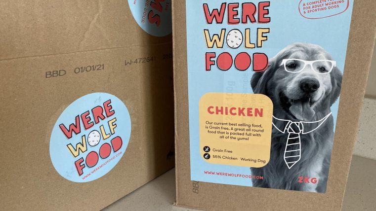 werewolf food dog