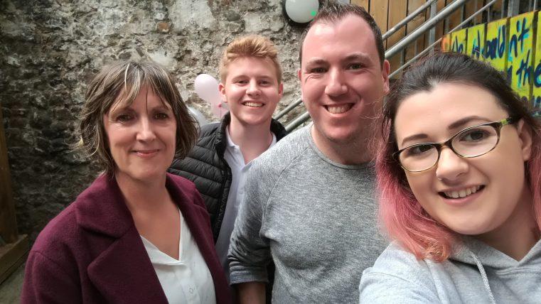 Mary, Cailian, Trevor & Deirbhile