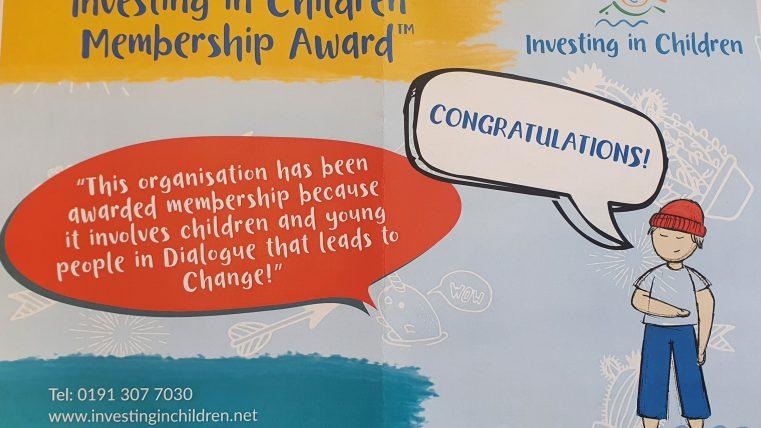 Investing In Children Award 2020 1