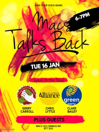 MACS talks back poster