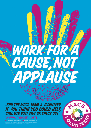 Work for a cause not applause