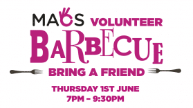Volunteer Barbecue Poster
