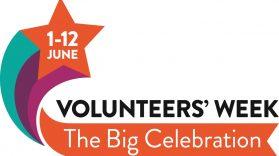 Volunteer Week 1- 7 June 2016