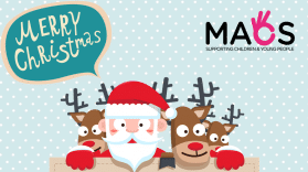 Merry Christmas from everyone at MACS Supporting Children & Young People