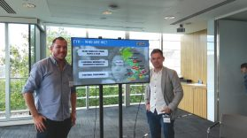Kieran & Trevor at Ending Youth Homelessness Employment Forum in London