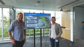 Kieran & Trevor at Ending Youth Homelessness Employment Forum in London
