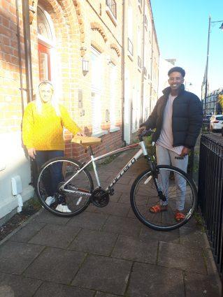 New Bike Bursuary
