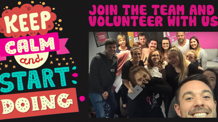 Join the Team and volunteer with us