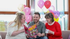 Robyn McCollum, Scott Irvine and Mary Ryan CEO of MACS Supporting children and Young People.